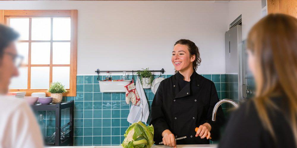Talleres de cocina saludable en Coruña de Carolina Mosquera